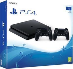 SonyPlayStation 4 slim 1 TB czarny + Kontroler DualShock 4