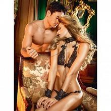 Baci Lingerie Przebranie niewolnicy - Baci Lace Love Slave Set One Size BC020C