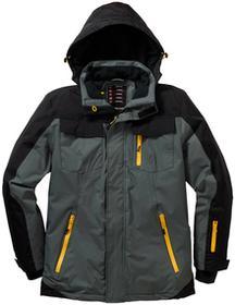 Bonprix Termoaktywna kurtka zimowa antracytowo-czarny