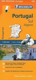 Portugal Sul, 1:300 000 Michelin