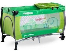 Caretero Medio Green łóżeczko turystyczne