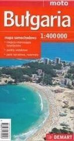 Demartpraca zbiorowa Bułgaria - mapa samochodowa 1:400 000