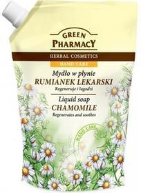Green Pharmacy Mydło w płynie naturalne Rumianek lekarski Zapas 465ml 1234593086