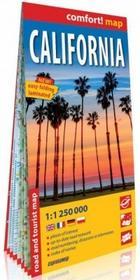 ExpressMap Kalifornia California) comfort! map laminowana mapa samochodowo turystyczna 1:1 250 000