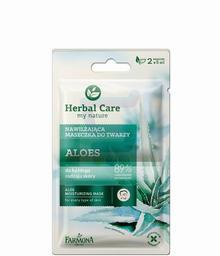 Farmona Herbal Care Maseczka do twarzy nawilżająca Aloes 2 x 5 ml