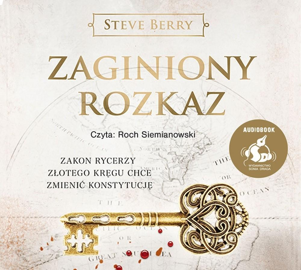 Zaginiony rozkaz audiobook CD) Steve Berry