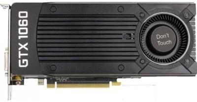 ZOTAC GeForce CUDA GTX1060 VR Ready