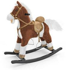 Milly Mally Konik na biegunach Mustang ciemny brąz