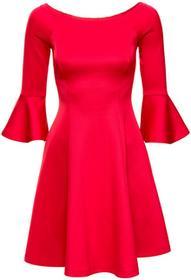 """Bonprix Sukienka z dekoltem """"carmen"""" czerwony"""
