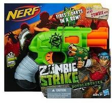 Hasbro Nerf Zombie Strike Doublestrike DARMOWA DOSTAWA DO KIOSKU RUCHU OD 24,99ZŁ