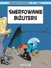 Egmont Smerfowanie biżuterii. Smerfy Komiks - Luc Parthoens, Thierry Culliford, Alain Maury