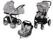 Baby Design Design Wózek wielofunkcyjny 3w1 Next + Leo Espiro stylish gray