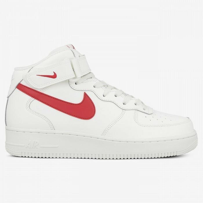 nike air force 1 low czerwono/białe
