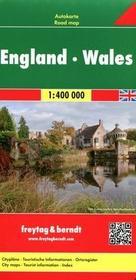 Freytag&berndt Anglia Walia mapa 1:400 000 Freytag & Berndt - Freytag & Berndt