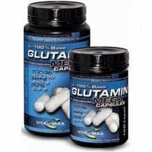 Vitalmax Glutamin L-100% Base 300 caps