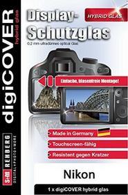 digiCOVER DigiCover wyświetlacz zapewnia ochronę Hybrid szklany Nikon D7500Przezroczyste G4516