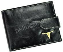 Pellucci Portfel męski RM-02-BAW BUFFALO Czarny RM-02L-BAW BUFFALO czarny-0
