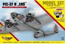 "Mirage Hobby Samolot Bombowy PZL-37B ""ŁOŚ"""