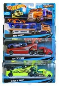 Mattel HOT WHEELS Ciężarówka i samochód, 5 rodzajów BDW51