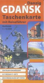 Plan kieszonkowy - Gdańsk w. niemiecka 1:16 000 praca zbiorowa