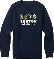 Burton bluza męska KODIAK CREW INDIGO