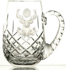 Crystaljulia Kufel grawerowany do piwa hubertus kryształowy 05629) 05629