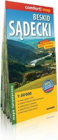 ExpressMap praca zbiorowa comfort! map Beskid Sądecki. Laminowana mapa turystyczna 1:50 000