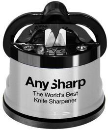 AnySharp Ostrzałka AnySharp Classic czarno-srebrna ANYSHARPSILVER