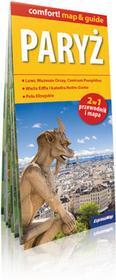 ExpressMap praca zbiorowa comfort! map&guide Paryż 2w1. Laminowany map&guide