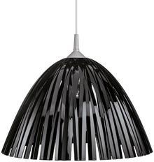 Koziol Lampa wisząca Reed, czarna, 44x27 cm