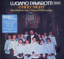 O Holy Night CD) National Philharmonic Orchestra Luciano Pavarotti