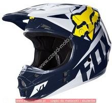 Fox KASK V-1 RACE HOLIDAY SE WHITE/YELLOW L 17334_214