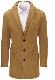 Dstreet Płaszcz męski kamelowy (cx0359) cx0359_m