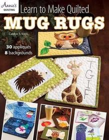 Annies Learn to make Quilted Mug rugs: 30Appl wyzwolenia 8Backgrounds ANN141392