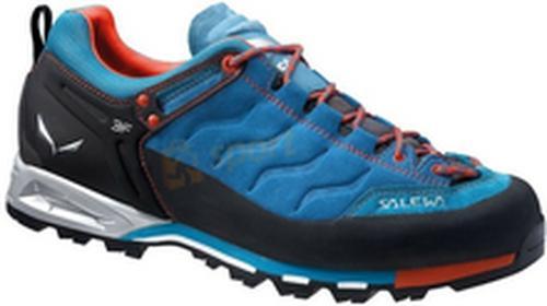 Salewa Buty trekkingowe MS MTN Trainer niebiesko-pomarańczowe) 12h