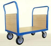 008 00853928 Wózek platformowy z dwoma uchwytami czołowymi wypełnionymi wymiary 1050x700 mm) 53928-uniw