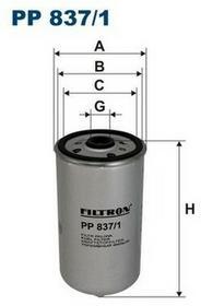 FILTRON PP 837/1 FILTR PALIWA