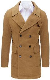 Dstreet Płaszcz męski zimowy kamelowy (cx0362) cx0362_m