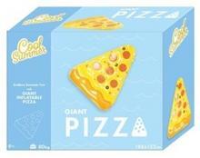 Tm toys Materac dmuchany - pizza, 180x150 cm
