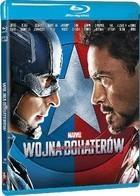 Kapitan Ameryka Wojna bohaterów Blu-Ray