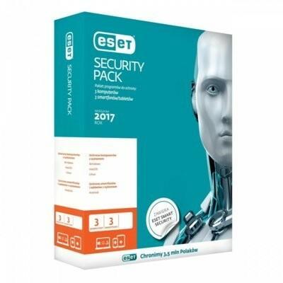 Eset Security Pack (3 stan. / 1 rok) - Nowa licencja