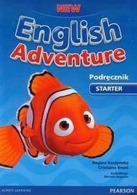 Pearson Education Limited Język angielski. New English Adventure. Starter. Sześciolatki. Podręcznik (+ DVD) - edukacja przedszkolna - Bruni Cristiana, Regina Raczyńska
