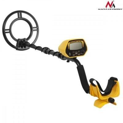Maclean Wykrywacz Metali z dyskryminatorem Energy MCE992 Pinpoint żółty