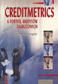 Creditmetrics a portfel kredytów zagrożonych - Agnieszka Langner