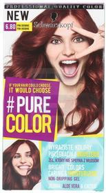 Schwarzkopf Pure Color Farba do włosów Pink Brownie nr 6.8