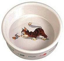 Trixie TRIXIE Miska porcelanowa dla kota 0,2L/11cm