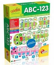 Lisciani Carotina Gra dla najmłodszych ABC-123