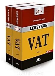 Zubrzycki Janusz Leksykon VAT 2018. Tomy 1-2 / wysyłka w 24h