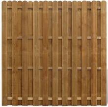 vidaXL vidaXL Płot sztachetowy drewniany