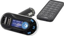 Caliber Audio Technology Transmiter FM Caliber Audio Technology PMT 557BT Bluetooth USB SD jack zestaw głośnomówiący pilot PMT 557BT